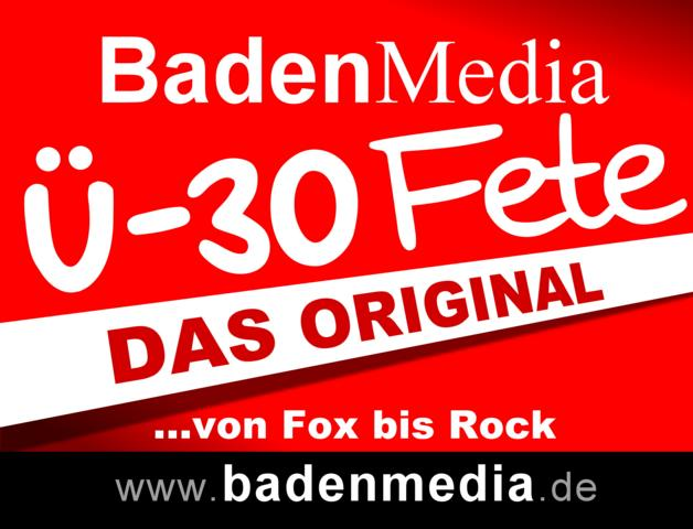 Baden Media Ü-30 Fete,Die mobile Party in der Ortenau