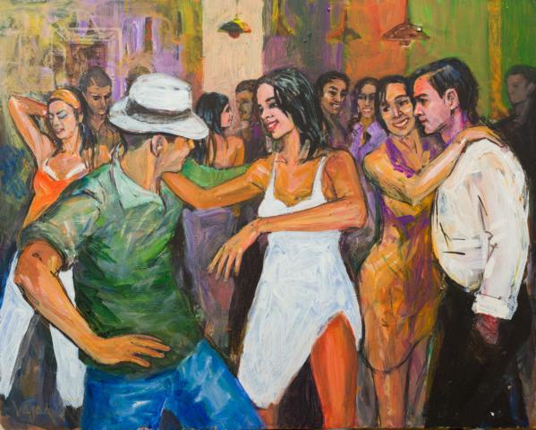 Salsa Tanzen im Tanzlokale